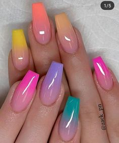 Millions of women put a lot of time, care and attention into their nails. Moreover, often we just don't have the time for setting up weekly or bi-weekly manicure Acrylic Nails Coffin Short, Summer Acrylic Nails, Best Acrylic Nails, Spring Nails, Cute Acrylic Nail Designs, Nail Designs Pictures, Beautiful Nail Designs, Nail Art Designs, Clear Nails