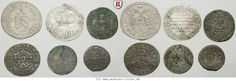 RITTER Bayern, Regensburg, Konstanz, Augsburg, Nürnberg, 6 Münzen 1525-1678 #coins