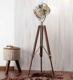 Buy Ethnic Roots Brown Nickel Finish Mango Wood Tripod Floor Lamp by Ethnic Roots online from Pepperfry. ✓Exclusive Offers ✓Free Shipping ✓EMI Available