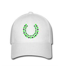 White Irish Lei Circular Open End grappig stijl Female's Baseball Caps