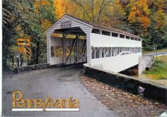 USA - Pennsylvania - Knox Covered Bridge