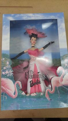 The Flamingo Barbie, Collectors Edition, Birds of Beauty, Complete in Box. | Collectibles, Vintage, Retro, Mid-Century, Plastic | eBay!