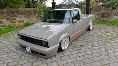 Vw Caddy Mk1, Volkswagen Caddy, Vw Fox, Vw Pickup, Vw Cars, Custom Cars, German, Golf, Red