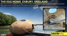 The #Egg Home, Exbury, #England