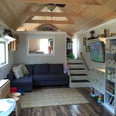 65 Genius Loft Stair for Tiny House Ideas