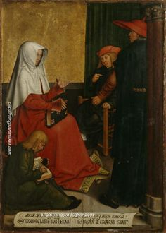 Bernhard Strigel St. Mary Salome and Zebedee with John the Evangelist and James the Great - Bernhard Strigel online outlet for sale, painting Authorized official website