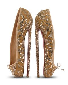 Christian Louboutin for English National Ballet (included as a work of art - surely they're not meant to be worn?)