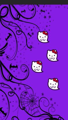 Hello kitty iphone wallpaper halloween
