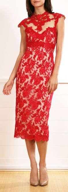 MARCHESA  DRESS @Michelle Flynn Flynn Coleman-Hers