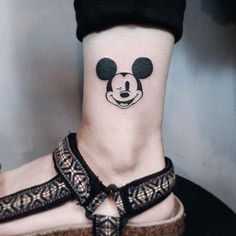 Mickey Mouse Tattoos to Preserve the Walt Disney Magic Mickey Tattoo, Mickey And Minnie Tattoos, Trendy Tattoos, Cute Tattoos, Beautiful Tattoos, Tattoos For Guys, Tatoos, Disney Tattoos Small, Small Tattoos