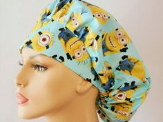 Minions Indispicable Me Surgical Womens Bouffant by SilverCaps