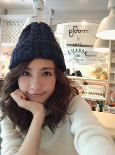 ニット帽の女の子は、やっぱりかわいい♡