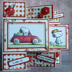 A Scrapjourney: Love is Snoopy