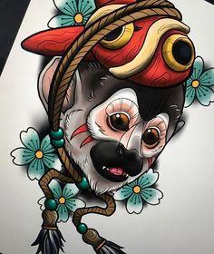 Traditional Japanese Tattoo Flash, Neo Traditional Art, Traditional Tattoo Sketches, Traditional Tattoo Design, Moños Tattoo, Daruma Doll Tattoo, Body Art Tattoos, Japanese Tattoo Designs, Japanese Tattoo Art