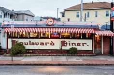 Boulevard Diner  Worcester | Built: 1936 | Worcester Lunch Car Co.