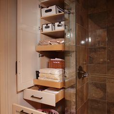 Great storage. wish I could figure out how to do this in the hall.