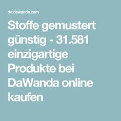 Stoffe gemustert günstig - 31.581 einzigartige Produkte bei DaWanda online kaufen