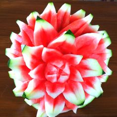 Watermelon flower by Carl Jones