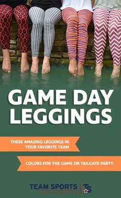 Are you a super fan of NCAA sports who does not want to sacrifice style? These amazing leggings in your favorite team colors can easily be worn at any game or party. Want to add a little more style? Wear these versatile leggings under your jeans, then pull the waist and cuffs up and over your jeans to add just a splash of color. Lightweight so they are cool during the summer. In the colder season, wear as an extra layer of warmth.  Visit teamsportsgift.com to get your leggings today!