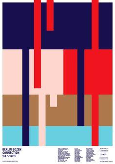 Studio Mut – Posters Berlin Bozen Connection www.studiomut.com