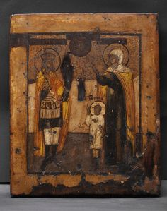 Antique - Religious Shop , Old Russian Icons - icon 101