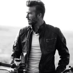 David Beckham Belstaff 2015