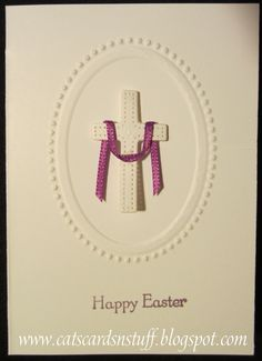 Cats Cards N Stuff: How to make the Mini Easter Cards