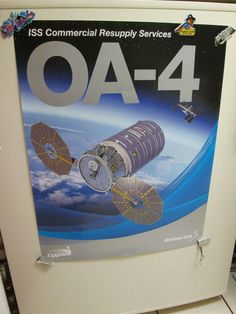NASA ATLAS V OA-4  POSTER CYGNUS  ORB4 ATK ULA