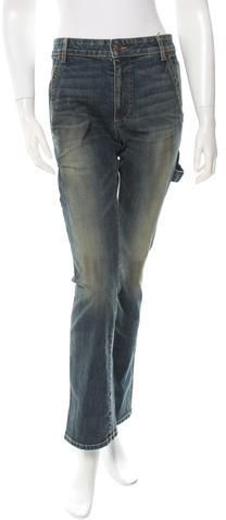 6397 Dirty Blue Painter Jeans