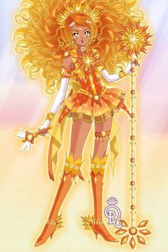 Sailor Sun by cosmicrose ~ Sailor Moon Dress Up