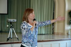 Michele Hagan addresses the Point Loma Democratic Club - May 18, 2014