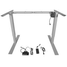 Titan Single Motor Electric Adjustable Base Height Sit-Stand Standing Desk Frame | Jet.com