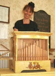 La princesse Barouline et son orgue de Barbarie - Animation vin d'honneur