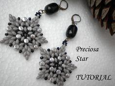* Tutorial Orecchini Preciosa Star