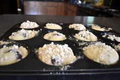 """""""Point-less"""" Meals: Blueberry Streusel Muffins"""