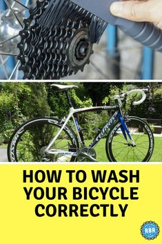 Learn how to wash your bicycle without harming it. #cyclingtips #cyclingadvice #cyclingmyths #cyclingequipment #cycling #bicycling #bicycle #thecyclingbug