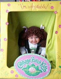 Cabbage Patch Kids Inspired Hat / Wig - Available in 7 sizes by OohSoChicBoutique on Etsy