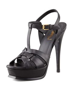 900efa06e4c Saint Laurent Tribute Platform Sandal