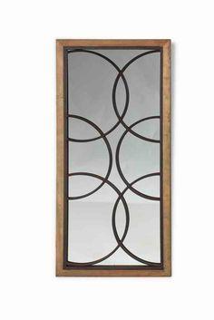 Espejo rectangular vintage Chenoceau