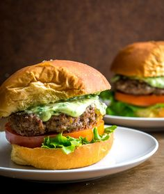 Mouthwatering Burger Recipes on Frugal Coupon Living. Handpicked hamburger recipes you can perfect at home on your own! Mouthwatering Burger Recipes on Frugal Coupon Living. Handpicked hamburger recipes you can perfect at home on your own! Hamburger Sauce, Hamburger Recipes, Beef Recipes, Griddle Recipes, Turkey Recipes, Bison Burgers Healthy, Beef Burgers, Bbq Hamburgers, Cheeseburgers