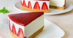 Tento recept ponúka návod na jahodový cheesecake, ktorého príprava je veľmi jednoduchá a výsledok chutný a skvelo vyzerajúci.