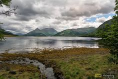 Loch Leven on a Scottish day.