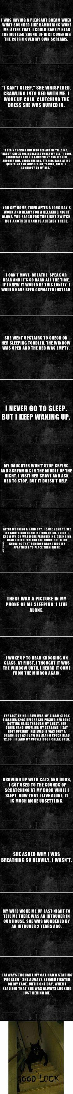 Heard you guys like horror stories