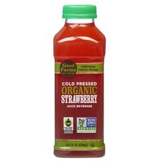 Our #StrawberryJuice is the first & only juice on the market made with organic strawberries that are #ColdPressed to retain their natural flavor, aroma, & nutrients. It's a refreshing, healthy, & delicious drink that sweetens any summer situation. Find it at Costco & Whole Foods in Southern California, & a portion of your purchase will help to make a difference. Together, we can improve lives from farm to table by cultivating real, positive change in how our food is grown, harvested…