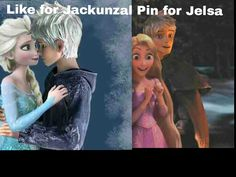 Yeah, it's gotta very be Jelsa ---it bugs me that whoever made this didn't put the names over their proper pictures.