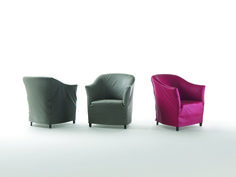 FLEXFORM DORALICE armchairs, designed by Paolo Nava & Antonio Citterio, 1980.