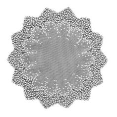 overlay for cake table?    Amazon.com: Heritage Lace Blossom 42-Inch Round Table Topper, White: Home & Kitchen