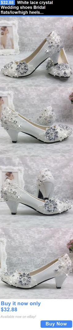 7db760275cd Wedding Shoes And Bridal Shoes  White Lace Crystal Wedding Shoes Bridal  Flats Low