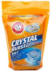 Possible FREE Arm and Hammer Plus OxiClean Crystal Burst Power on http://hunt4freebies.com