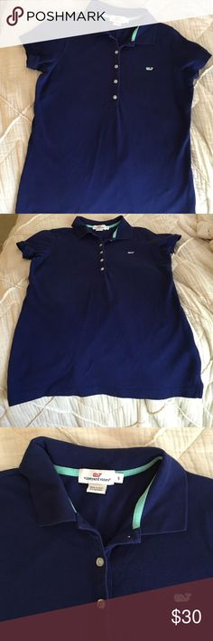 Vineyard Vines Small Shirt got it for my birthday 2 weeks ago, worn it once to golf & decided it was too small on me. looks & is brand new! Vineyard Vines Tops Button Down Shirts
